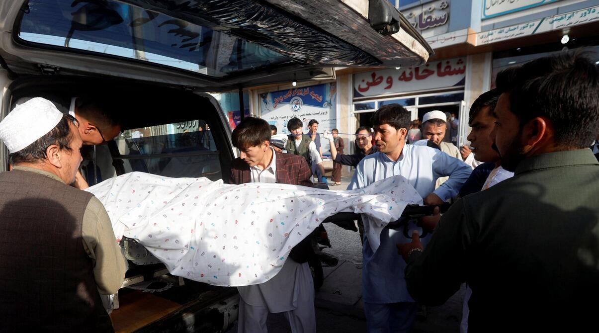 阿富汗卫生部:喀布尔爆炸事件死亡人数升至48人