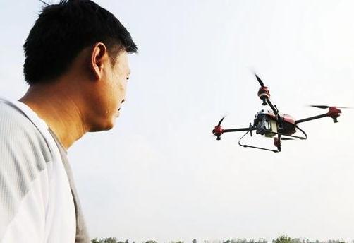 政府出资!无人机免费为农户喷洒农药