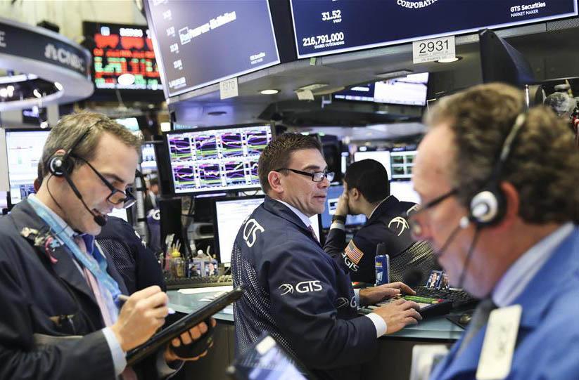 纽约股市三大股指15日收盘下跌