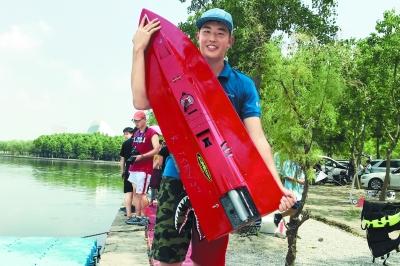 北京学生拿下全国航海模型赛冠军