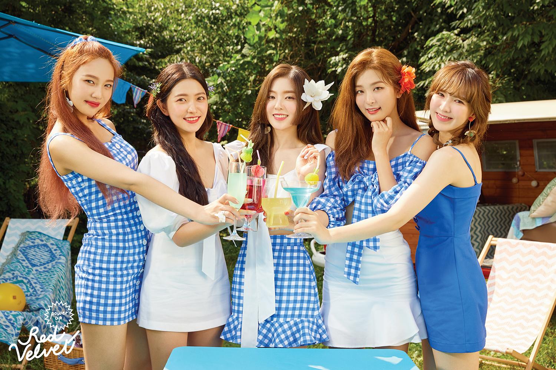 """""""夏日主宰""""Red Velvet,Gaon Chart3三连冠"""