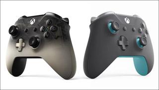 微软公布了两个新配色Xbox手柄:幻影黑和灰蓝