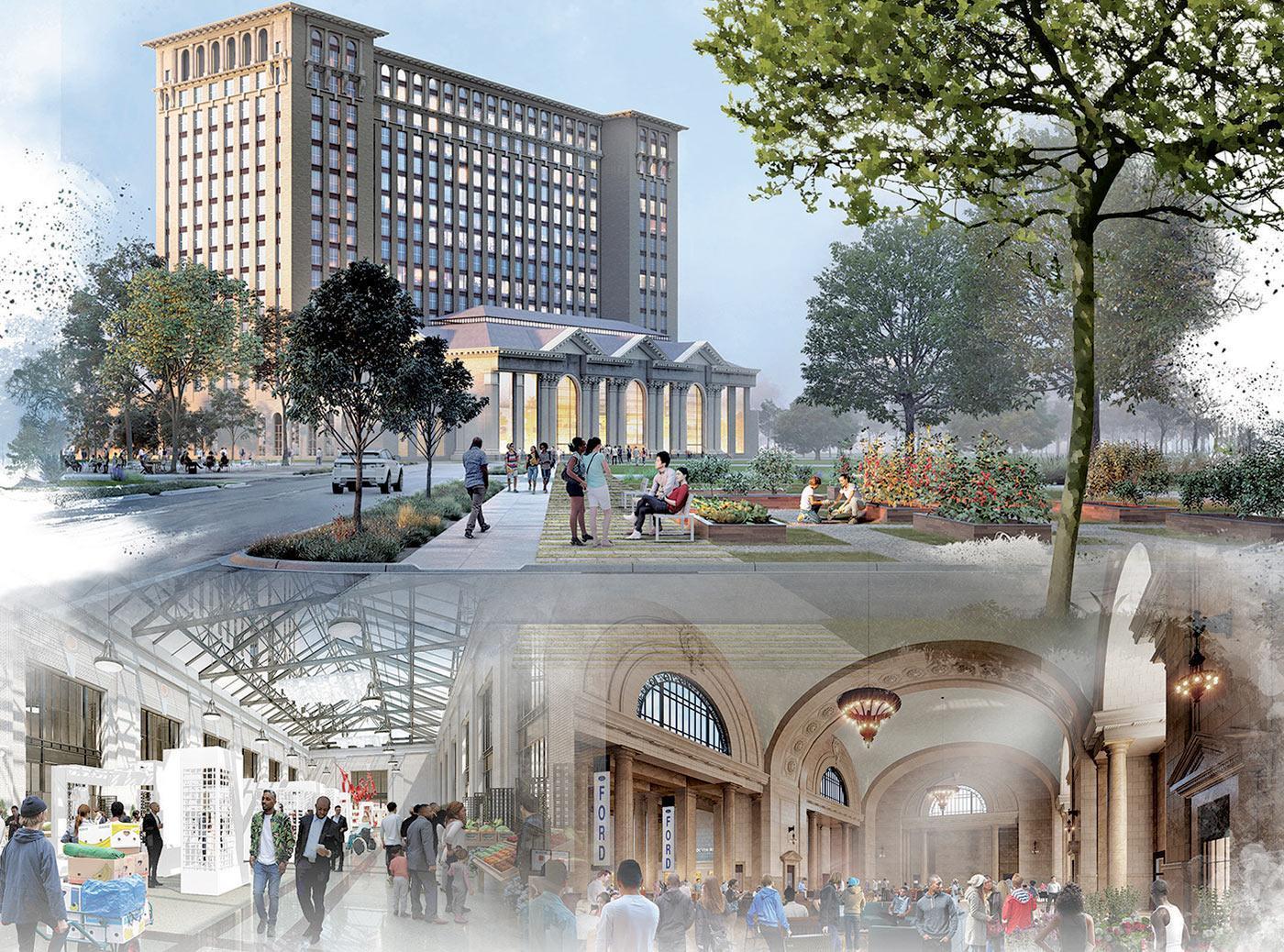 福特斥资7.4亿美元改造底特律火车站 建新技术园区