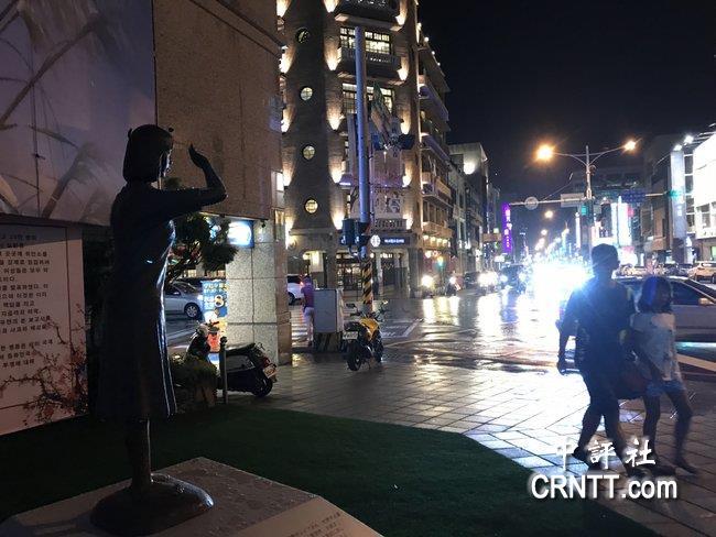 台湾首座慰安妇像立于台南市 日本要求移除?
