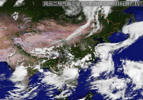 """台风""""温比亚""""16日夜到17日晨在浙江象山至上海一带登陆"""