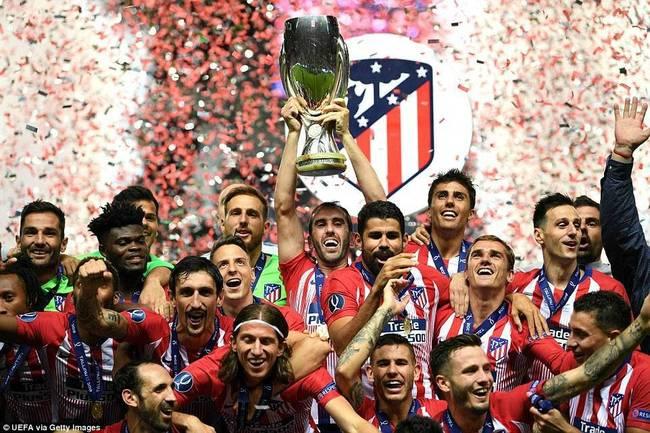 欧洲超级杯:马竞4-2皇马 床单军团加时爆发夺冠