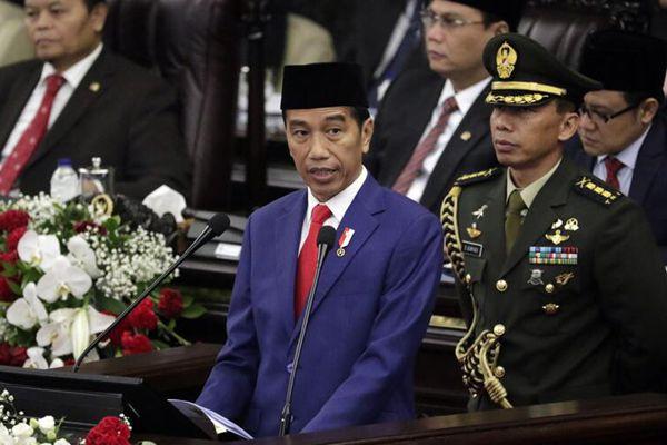 印尼将迎独立日 总统佐科在议会发表年度讲话