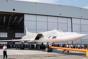 俄首架最新升级图22M3M战略轰炸机正式下线