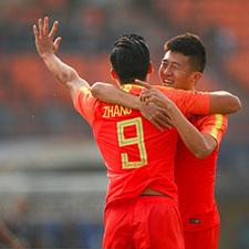 U23男足6-0大胜东帝汶 亚运开门红