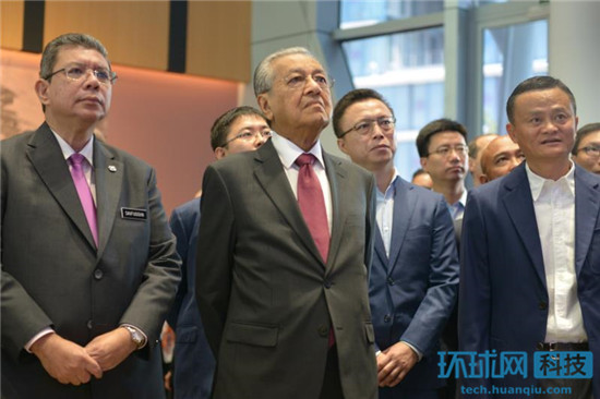 马来西亚总理马哈蒂尔访华:首站杭州 与马云会面