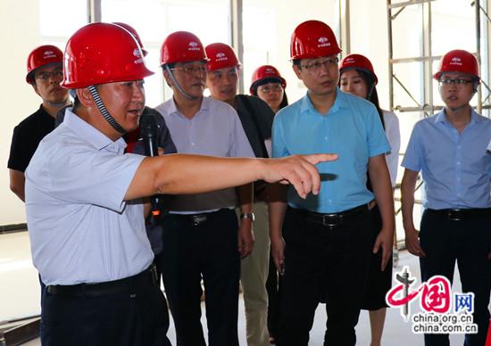 智行中国走进中冶新能源 中冶产业结构向高端延伸