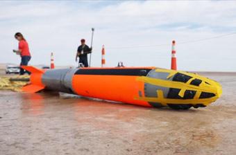 美军B61战术核弹测试曝光 弹头上还缠着胶带