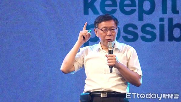 """台北市长柯文哲被传将组""""台湾民众党"""" 本人未正面否认"""
