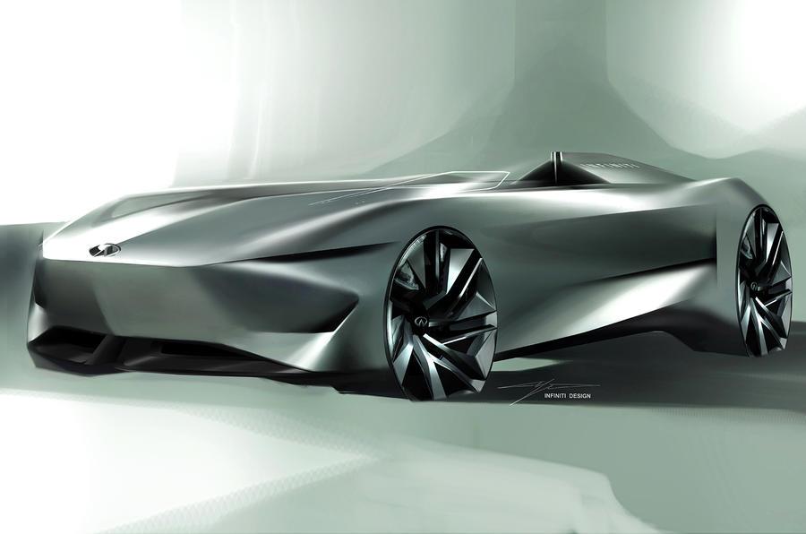 英菲尼迪Prototype 10最新预告图发布 即将亮相