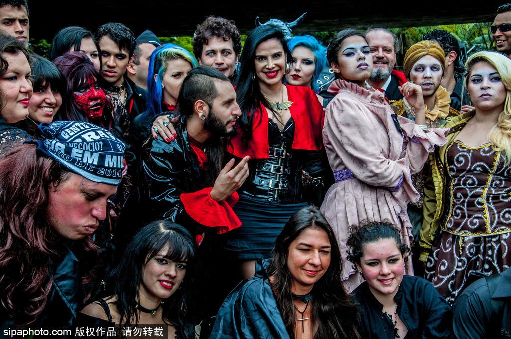 僵尸来袭!巴西圣保罗电影制作人聚会超有梗