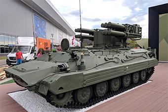 俄罗斯展示最新型松树R短程防空导弹系统