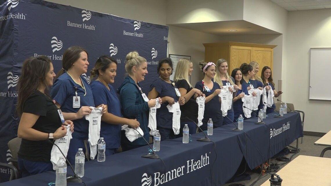 如此巧合!美国医院同一科室16位护士同时怀孕