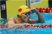 男子100米仰泳决赛 徐嘉余平纪录夺冠