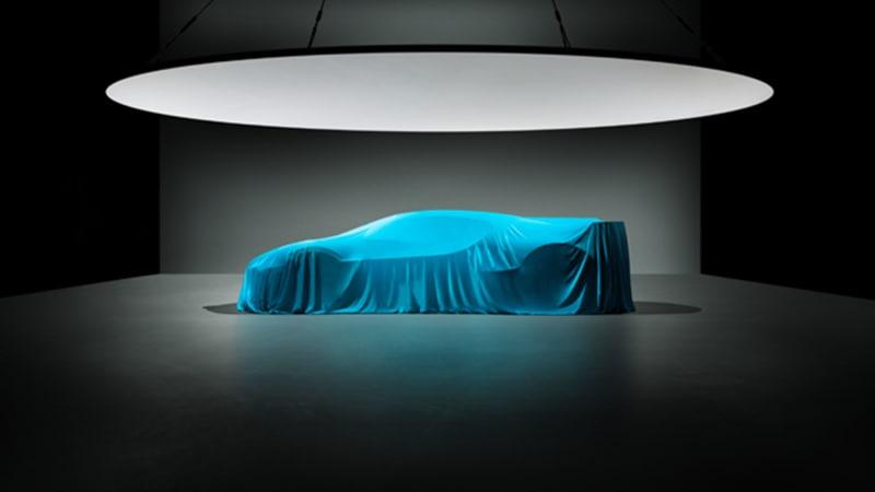 布加迪Divo发布整车预告图 8月24日全球首秀