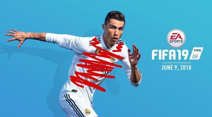 《FIFA 19》新版封面出炉 EA果断选择P图