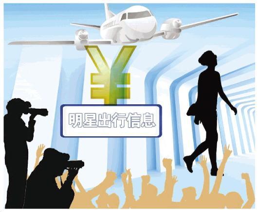明星信息明码标价公开叫卖 揭机场追星背后的利益链