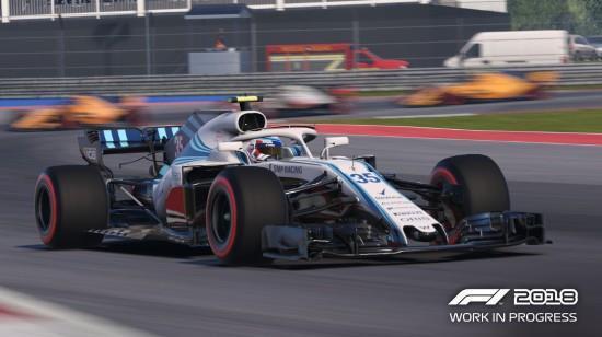 《F1 2018》画面对比真实赛车:简直一模一样