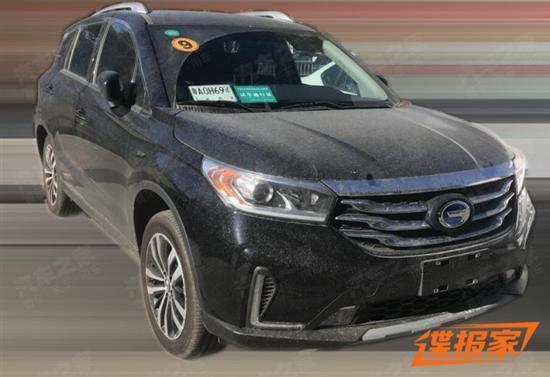内外同步更新 广汽传祺GS4 EV谍照曝光