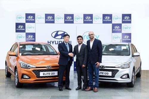 现代投资印度共享汽车公司 拓展移动服务市场