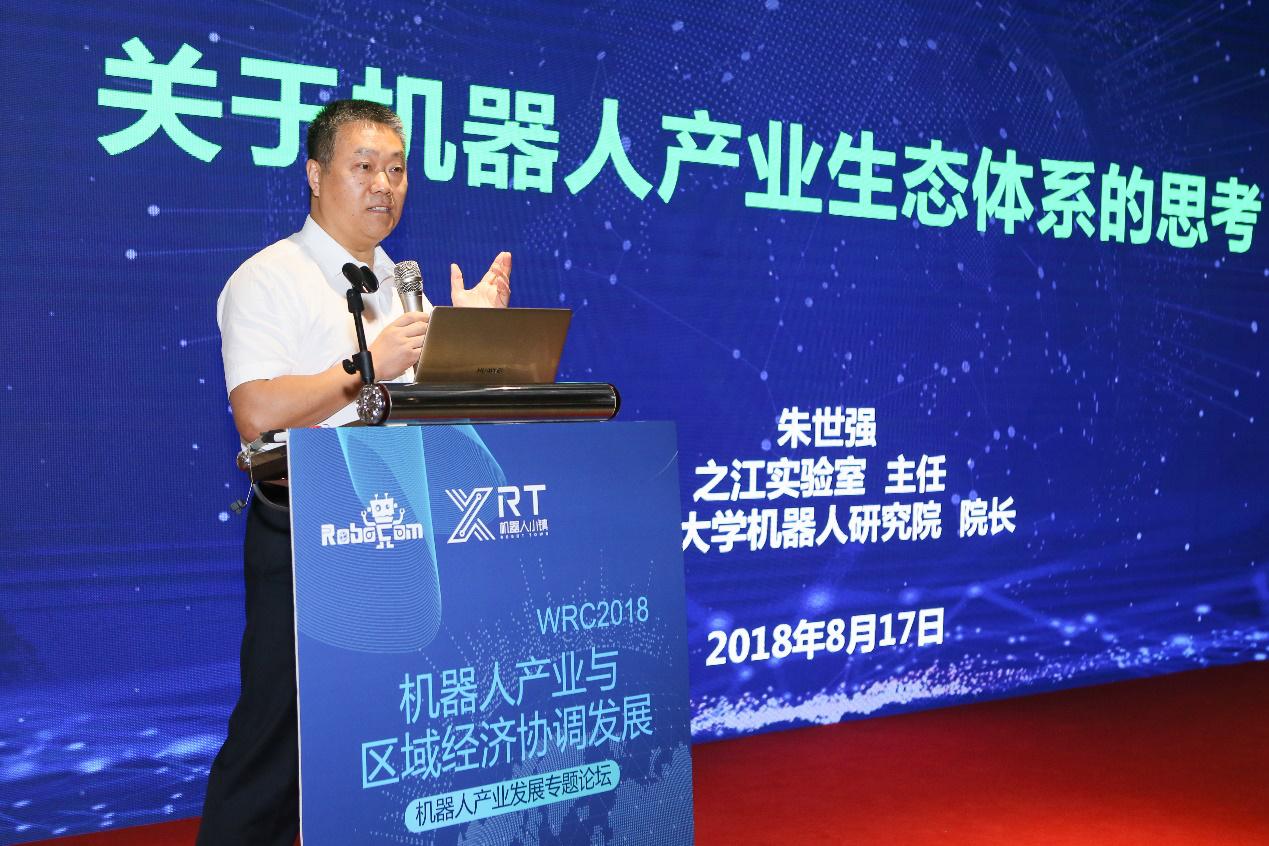 2018世界机器人大会机器人产业与区域经济协调发展专题论坛召开