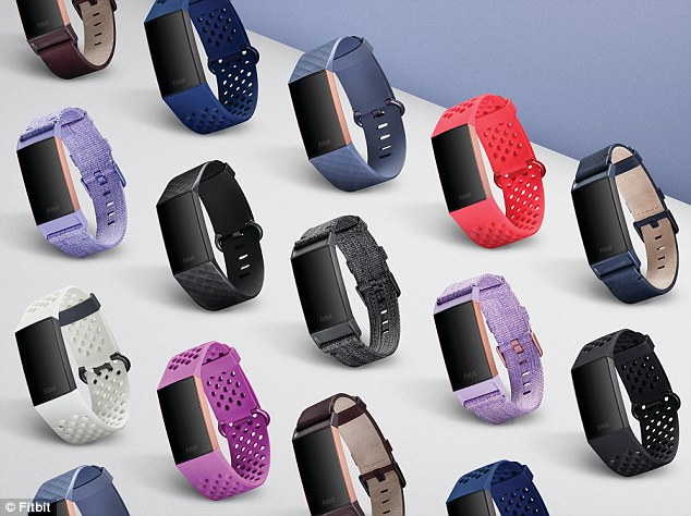 Fitbit发布大触屏运动手环Charge 3 具有防水功能