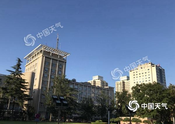 北京今天天晴气爽紫外线强 明天大部有雷阵雨最高温28℃