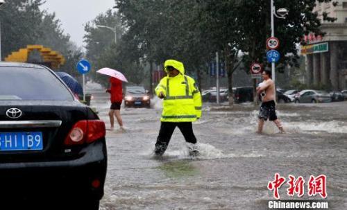 """东北西北多地遭暴雨天气 """"温比亚""""影响今将结束"""
