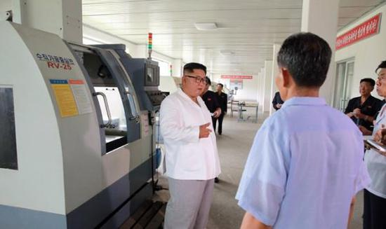 金正恩不满医疗器具厂现代化改造 表示将亲自来抓