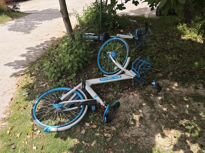 """共享单车""""坟场""""涌现 回收后发挥余热有点难"""