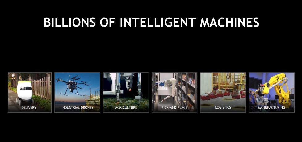 布局深度学习领域 机器人是英伟达的下一场革命?