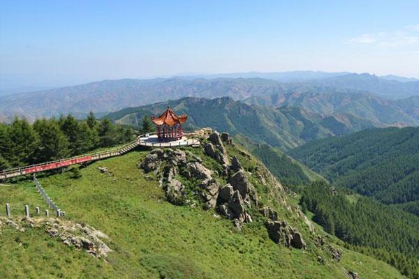 内蒙古绿色明珠苏木山