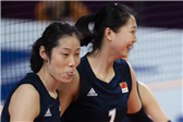 中国女排3-0中国台北 朱婷袁心玥双剑合璧