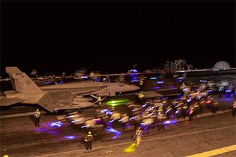 美海军航母两栖战斗舰全出动 在马来西亚演习