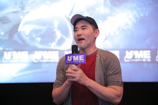 《巨齿鲨》重庆路演  票房摘获国内单日冠军
