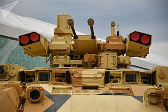 俄一年一度陆军军事技术论坛开幕 展示先进装备