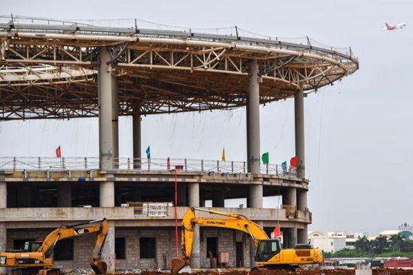 探访海口美兰国际机场二期工程 预计2019年10月投入使用
