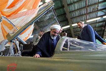 伊朗首次展示自研先进战机 和美F-5战机撞脸