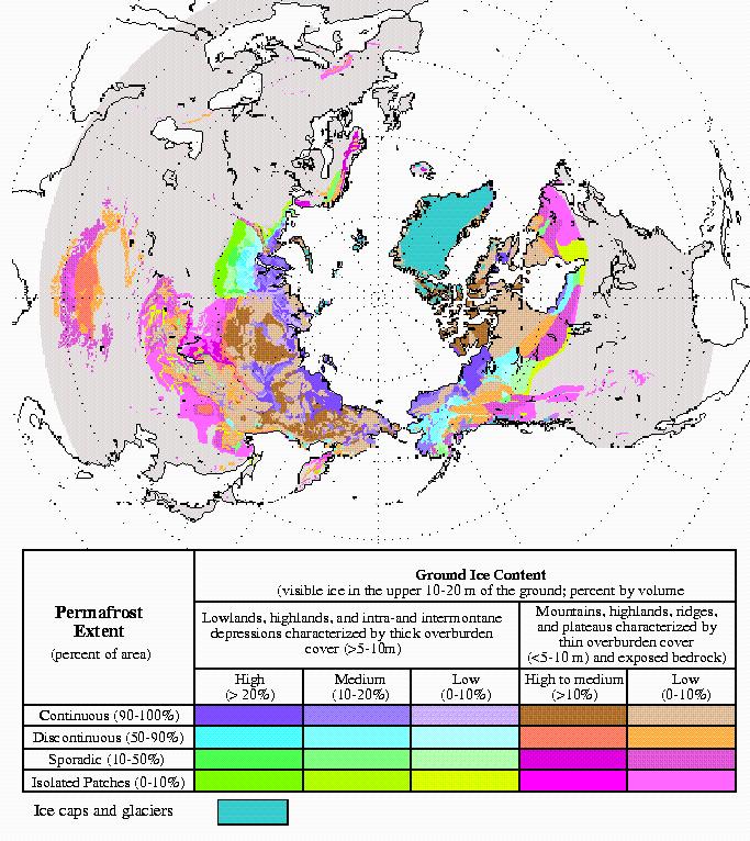 报告:北极永久冻土以比预期提前数十年的速度解冻