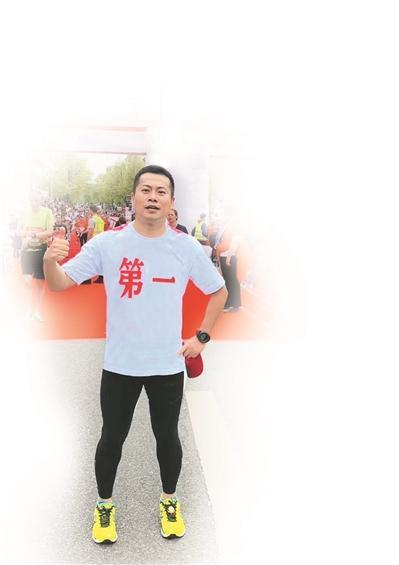 廖凯:这是跑步 给我的勇气