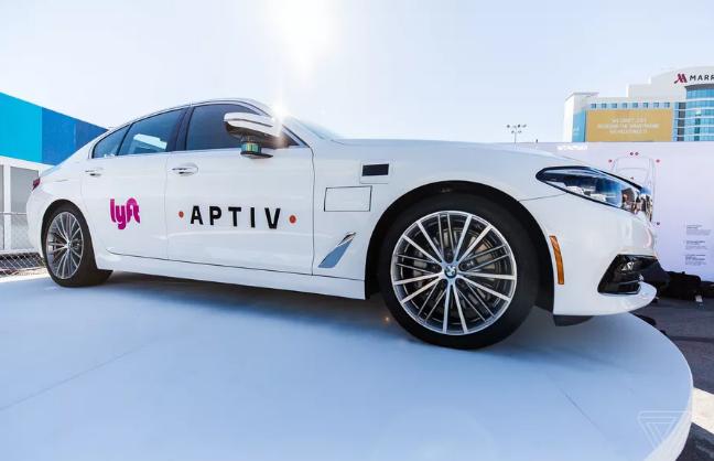 Lyft和Aptiv完成自动驾驶出租车的5000次付费旅行