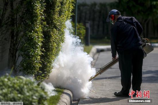 香港登革热再增2例 将开展10周全港密集式灭蚊行动