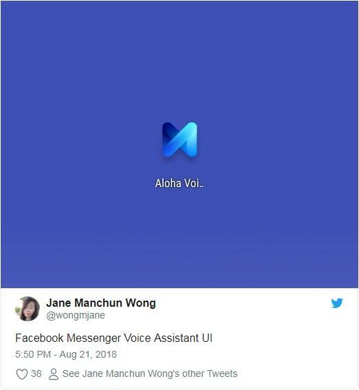 Facebook语音助理曝光 Aloha有望登陆智能扬声器