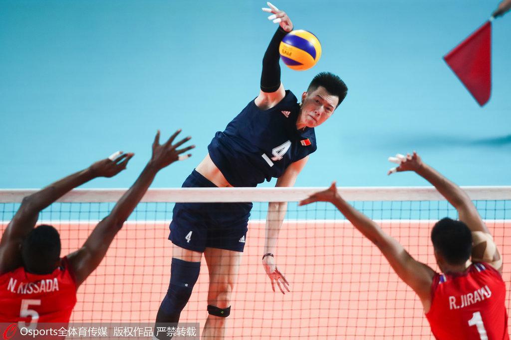 大逆转!中国男排3-2泰国 惊险获亚运小组赛首胜