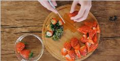 超高颜值的水果鲜花冰碗的做法