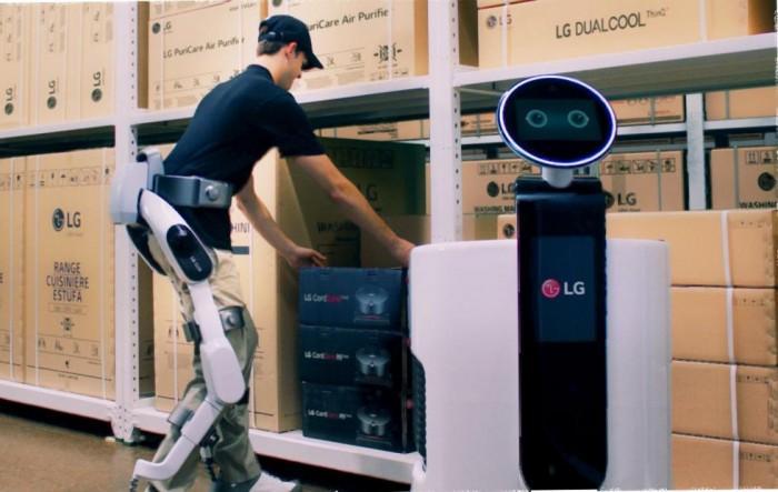 "LG展示""可穿戴""机器人CLOi SuitBot"
